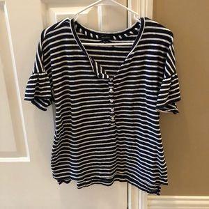 Women's striped top
